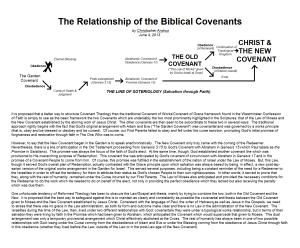 Relationship of Covenants